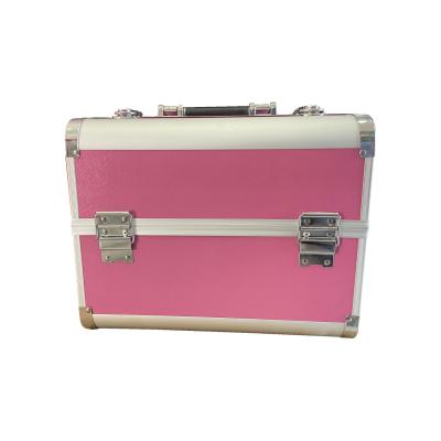 maletin rosa liso